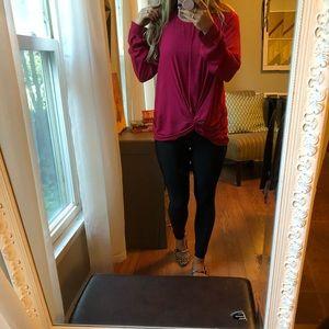 Lush Magenta blouse